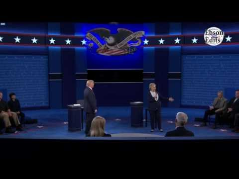 Second Presidential Debate 2016 Donald Trump VS Hillary Clinton Funniest/Best Moments!