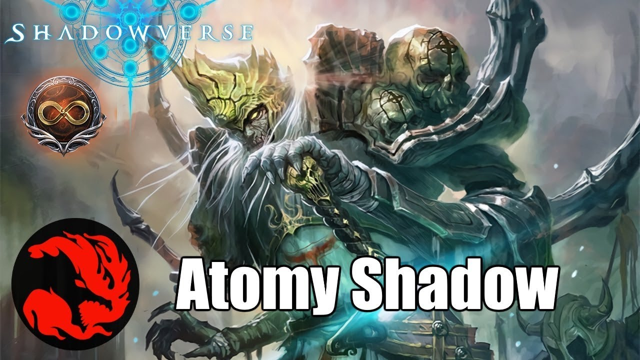 Shadowverse The Big Bad Atomy Shadowcraft Deck