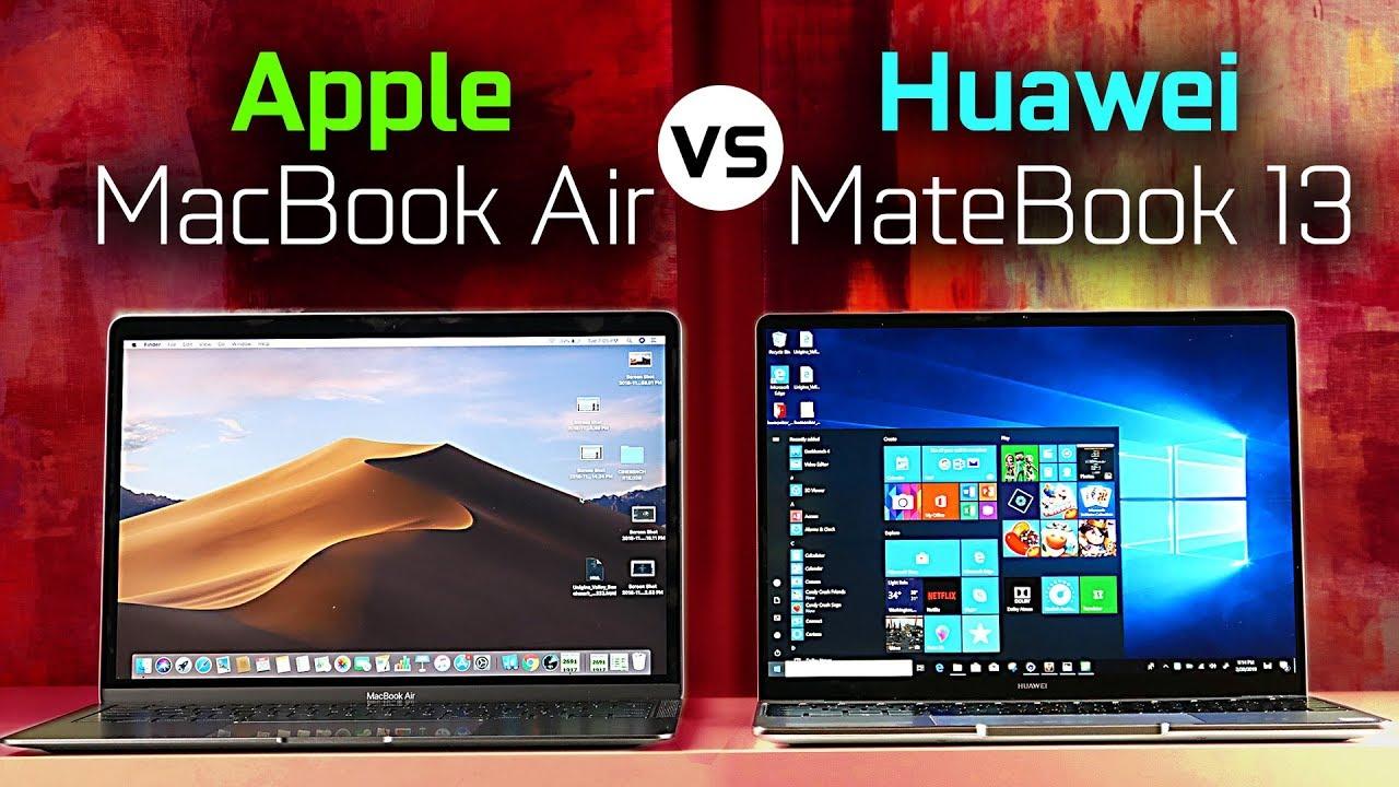 Download MacBook Air vs Huawei MateBook 13 - Full Comparison
