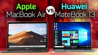 MacBook Air vs Huawei MateBook 13 - Full Comparison
