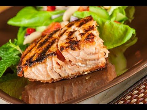 Salmon and Warm Cannellini Bean Salad Recipe