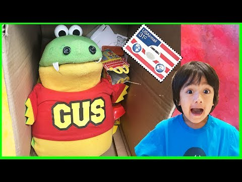 I MAILED MYSELF TO RYAN TOYSREVIEW and played with RYAN!