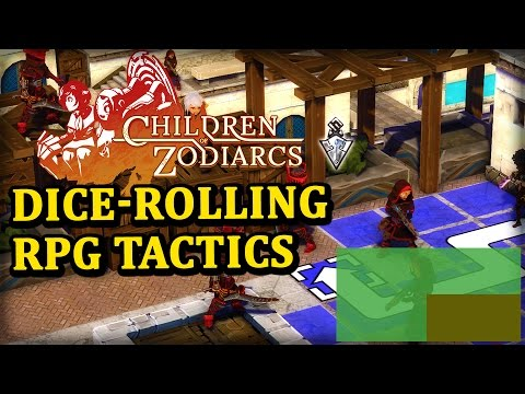 Children of  Zodiarcs Gameplay - A Tactical RPG With Dice Rolls - PAX East 2016