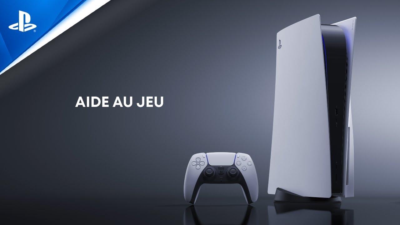 Explorer l'interface utilisateur de la PS5 - Aide au jeu