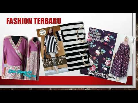 Jual Fashion Busana Muslim Terbaru di Jakarta