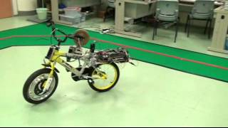 Using NI Single-Board RIO and LabVIEW to Create a Gyroscopic Bicycle Stabilization System