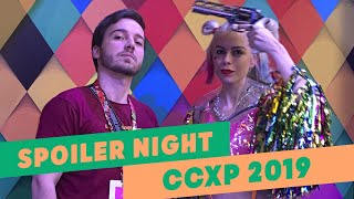 VLOG: CCXP 2019 - SPOILER NIGHT | INSTACINEFILOS