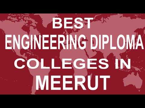 Best Diploma in Engineering Colleges in Meerut