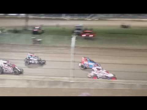 USAC Midgets Feature  Kokomo Speedway 4/6/19