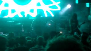 The Devil Wears Prada - Martyrs (New song 2013) (live 17/06/2013) @ Moscow HALL