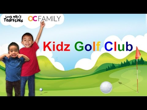 Kidz Golf Club, Aliso Viejo (Golf Lessons for Kids): Look Who's Traveling