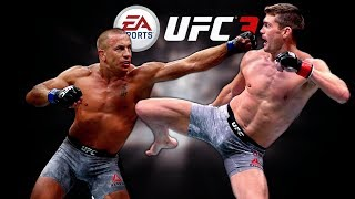 Facing The Absolute BEST GSP Player In EA UFC 3!