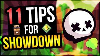 #1 SHOWDOWN GUIDE! 11 Tips To Help You Dominate Showdown! (Brawl Stars)