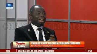 osun election dissecting the outcome of tribunal s verdict sunrise daily