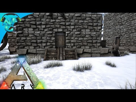 Building a Base in a Very Cold Place! - ARK Survival Evolved - PvP Season E4