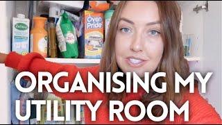 ORGANISING MY UTILITY ROOM