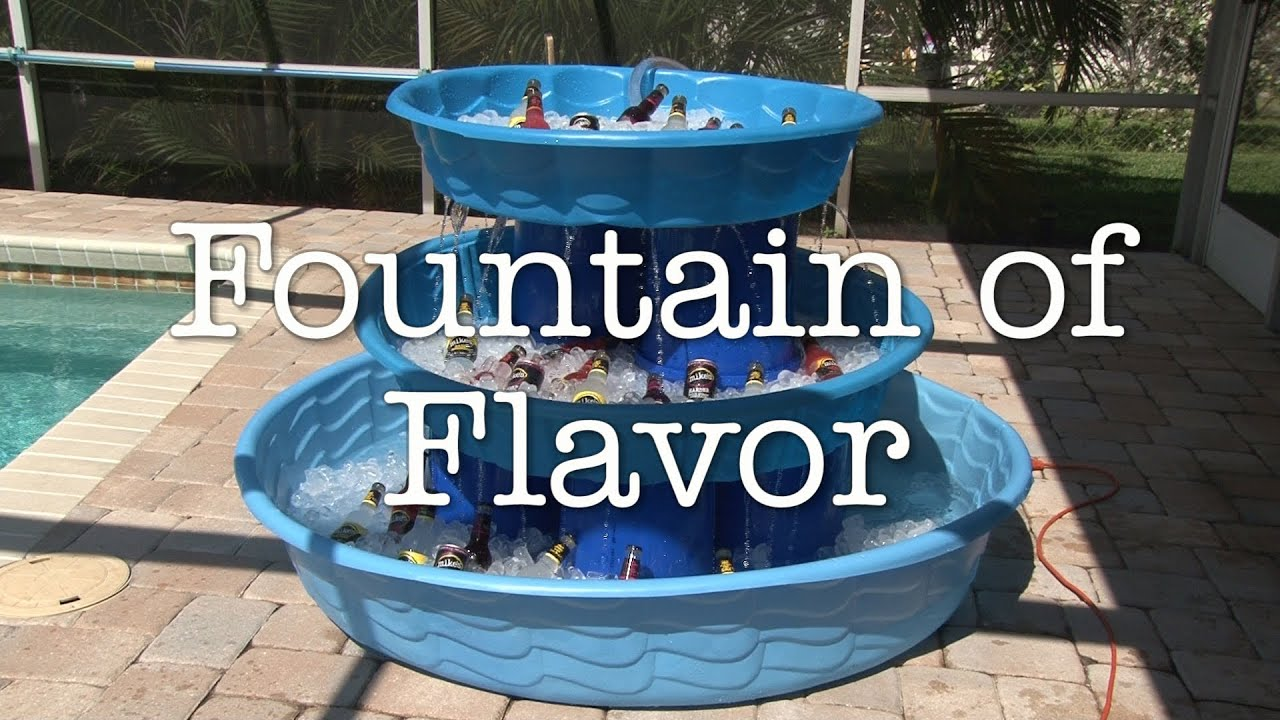 The fountain of flavor youtube How to make swimming pool water drinkable