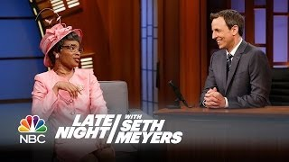 Grandma - Late Night with Seth Meyers