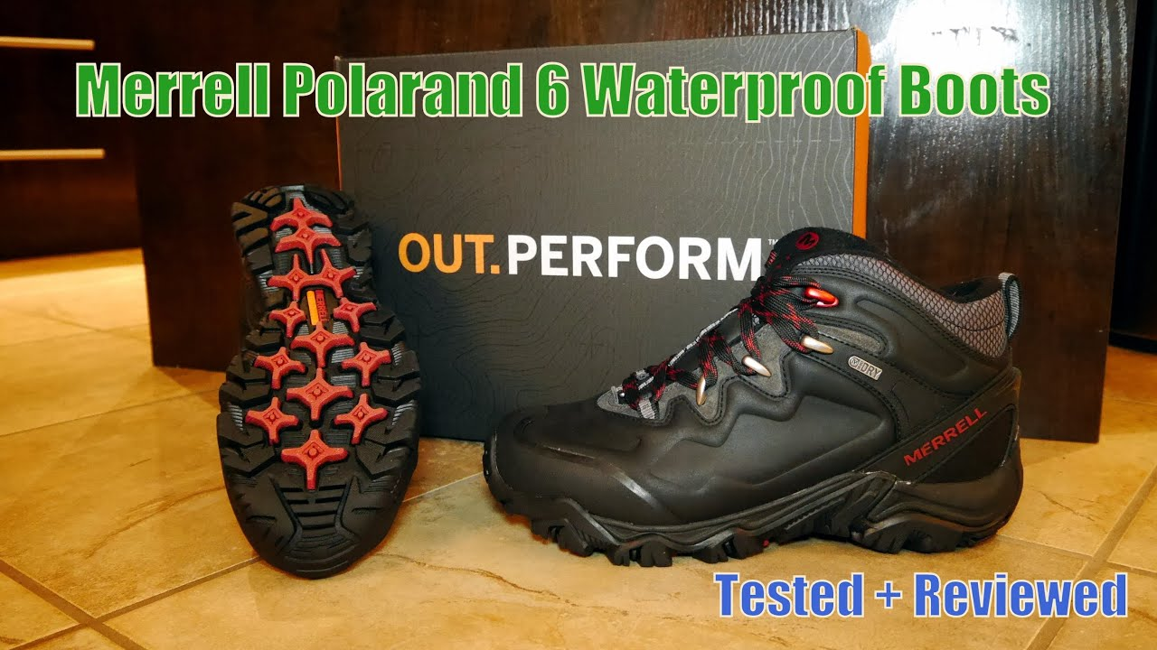 merrell polarand 6 waterproof boots tested reviewed