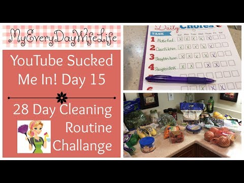 YouTube Sucked Me In! || 28 Day Cleaning Routine Challenge