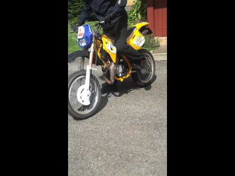 Motorhispania Furia 50cc - Dirt Bike - Road Legal