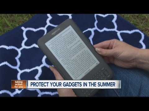 Tips on how to protect your gadgets in the summer