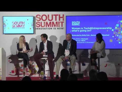 SOUTH SUMMIT 2016 - Panel -  Women in Tech & Entrepreneurship,  what's going on?