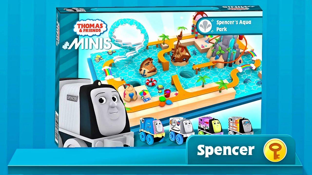 Thomas & Friends Minis: Spencer's Aqua Park Tracks | Game App for Kids