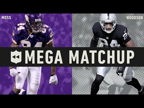 Randy Moss vs. Charles Woodson MEGA Matchup!   NFL Throwback