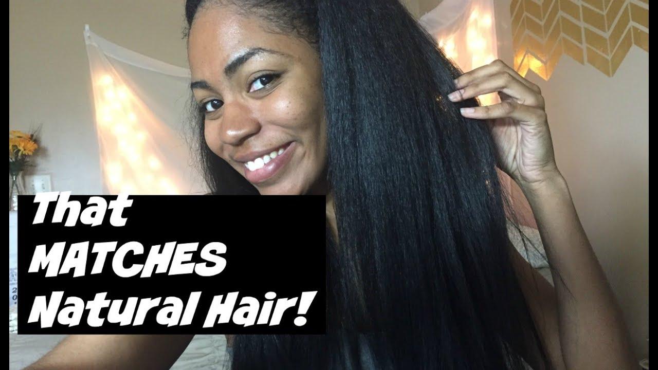 Kima Classic Volum Hair U Part Tutorial Youtube
