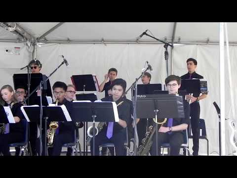 2018 2-24 PDHS Jazz Band at Rock the House