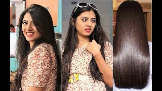 Hindi: How to get Soft Silky Hair _ BEST Hair Mask for Frizzy Damaged Hair | Superwowstyle Prachi