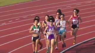 陸上 成年女子 1500m 決勝 和歌山国体 2015.10.4 福田有以 検索動画 21