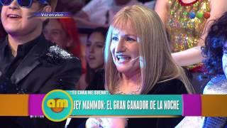 Jey Mammon como Lucía Galán - Am