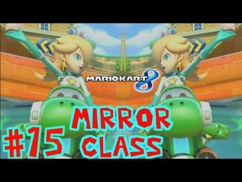 Mario kart 8 gameplay part 15 mirror class with rosalina for Mirror gameplay walkthrough