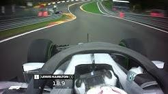 Lewis Hamilton's Pole Lap | 2018 Belgian Grand Prix