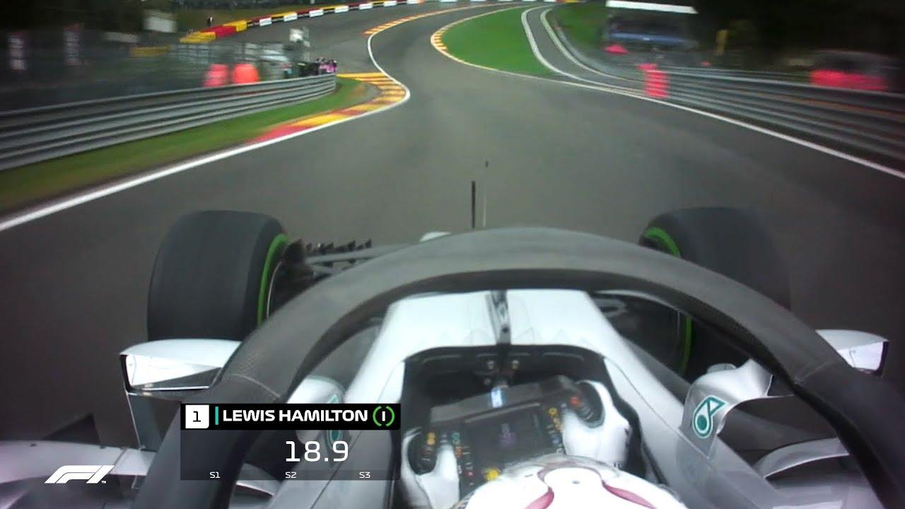 Lewis Hamilton's Pole Lap   2018 Belgian Grand Prix