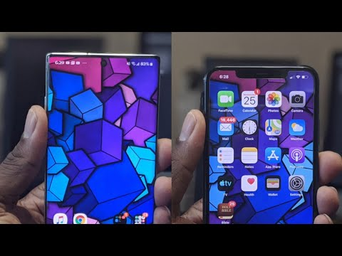 IPhone 11 Pro Max VS Galaxy Note 10 Plus