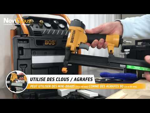BOSTITCH SB-2IN1: Le seul appareil qui cloue et agrafe !