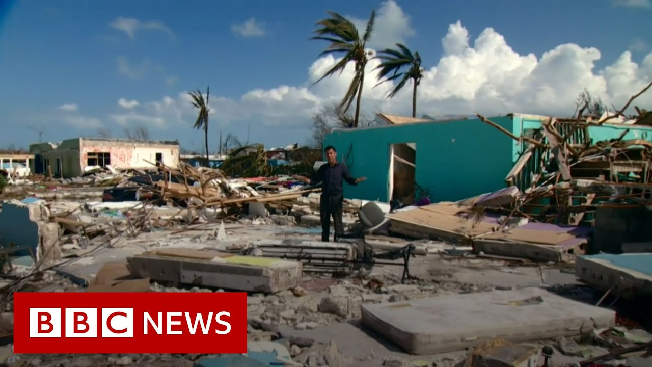 Hurricane Dorian: Bahamas death toll expected to be 'staggering' - BBC News