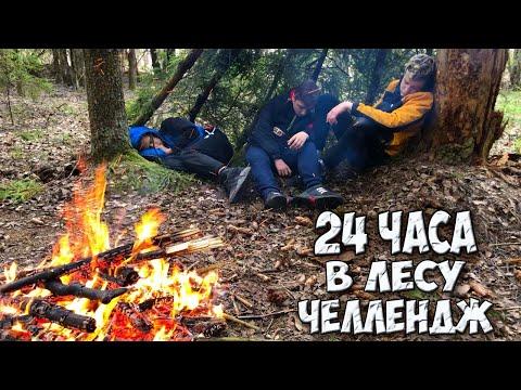 24 ЧАСА В ЛЕСУ БЕЗ ЕДЫ/ЧЕЛЛЕНДЖ/ВЫЖИВАНИЕ