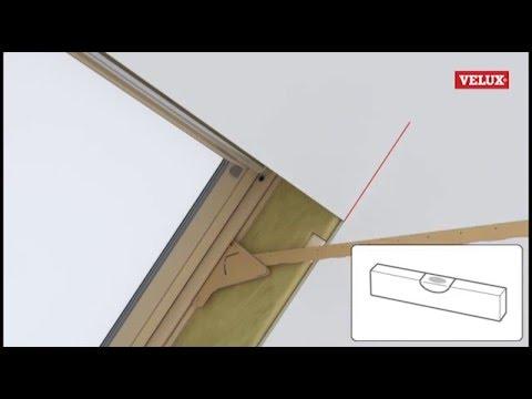 Видеоинструкция по монтажу откосов мансардных окон Velux