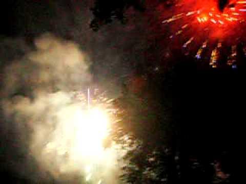 Trenton Ontario fireworks 2009