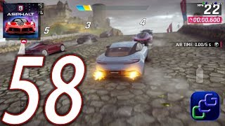ASPHALT 9 Legend Android iOS Walkthrough   Part 58   Chapter 4 British Beasts