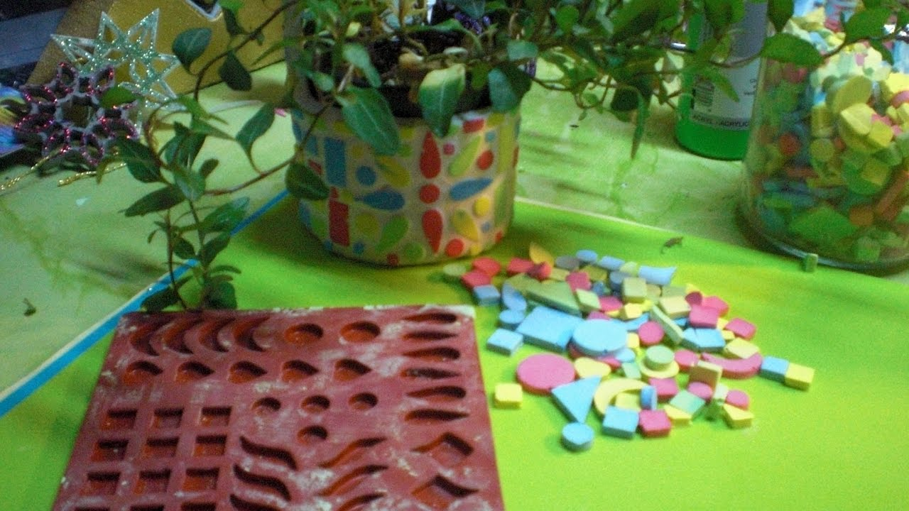 diy mosaike selber machen variante 2 aus keramik giessen youtube. Black Bedroom Furniture Sets. Home Design Ideas
