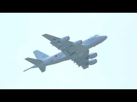 祝!初飛行P-1#5513 岐阜基地170623