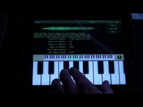 80's Music Sample Junkie?  Fairlight CMI APP from Peter Vogel Instruments