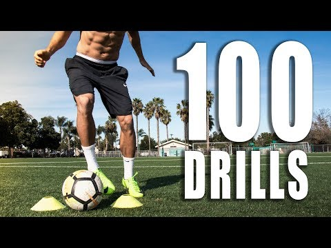 100 Individual Soccer Training Drills