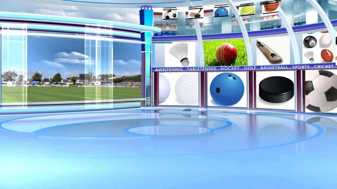 Free Hd Virtual Studio Sports Stadium Long Hd1 - Youtube-4729