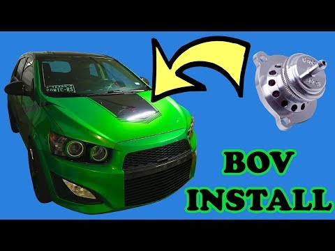 Chevy Sonic BOV Install (Atmospheric Bypass Valve)